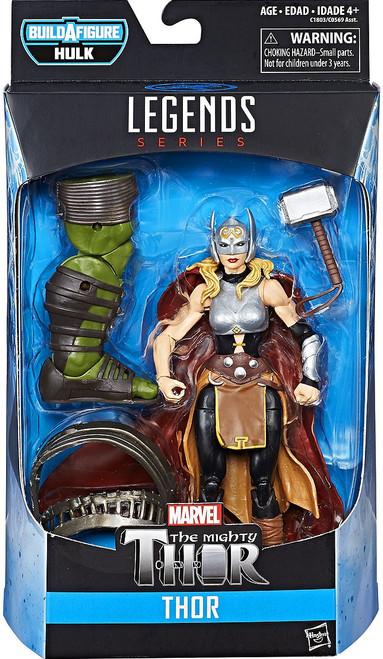 Thor: Ragnarok Marvel Legends Hulk Series Thor Action Figure [Jane Foster, Damaged Package]