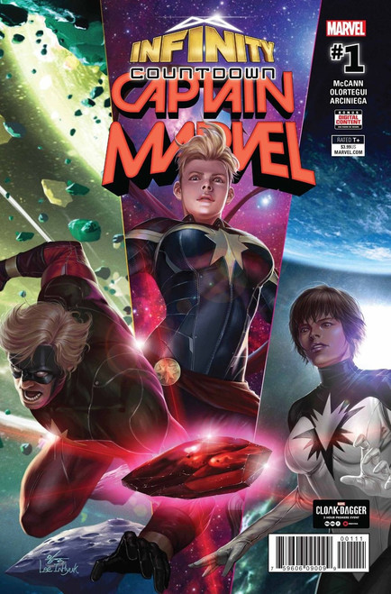 Infinity Countdown #1 Captain Marvel Comic Book
