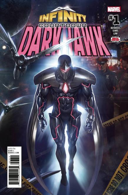 Marvel Comics Infinity Countdown #1 Darkhawk Comic Book