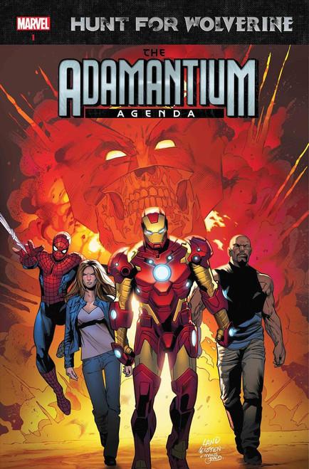 Marvel Comics Hunt for Wolverine #1 Adamantium Agenda Comic Book