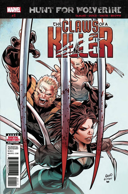Marvel Comics Hunt for Wolverine #1 The Claws of a Killer Comic Book
