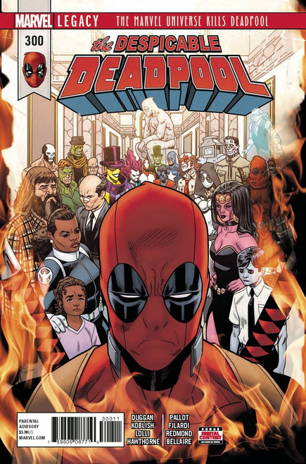 Marvel Comics Despicable Deadpool #300 Comic Book
