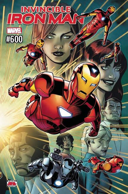 Marvel Comics The Invincible Iron Man #600 Comic Book