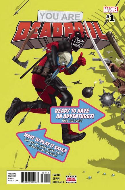 Marvel Comics You Are Deadpool #1 Comic Book