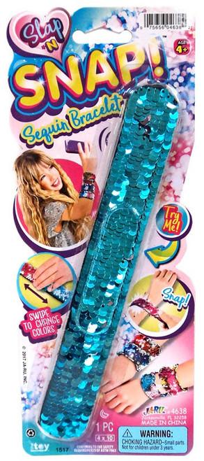 Slap 'N Snap! Turquoise & Pink Snap Bracelet