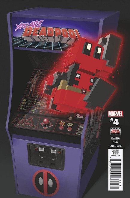 Marvel Comics You Are Deadpool #4 Comic Book
