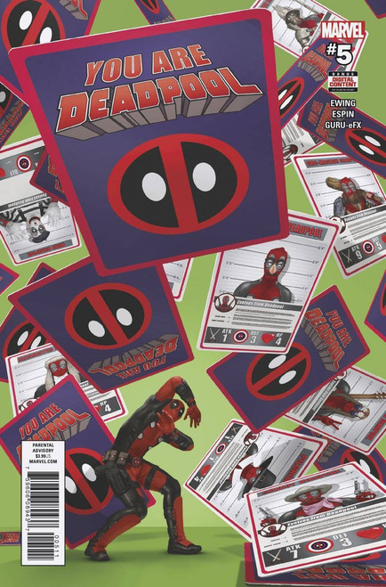 Marvel Comics You Are Deadpool #5 Comic Book