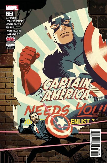 Marvel Comics Captain America #702 Comic Book