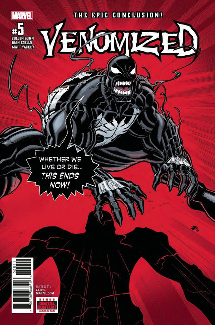 Marvel Comics Venomized #5 Comic Book