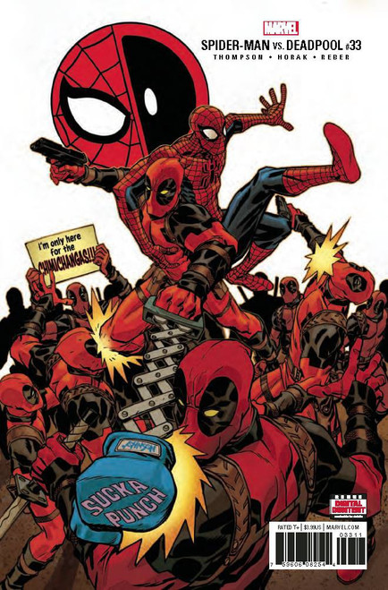 Marvel Spider-Man Deadpool #33 Comic Book