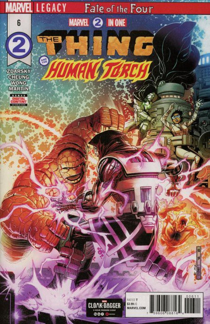 Marvel Comics Marvel Two in One #6 The Thing & The Human Torch Comic Book