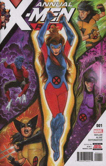 Marvel Comics X-Men Red #1 Annual Comic Book