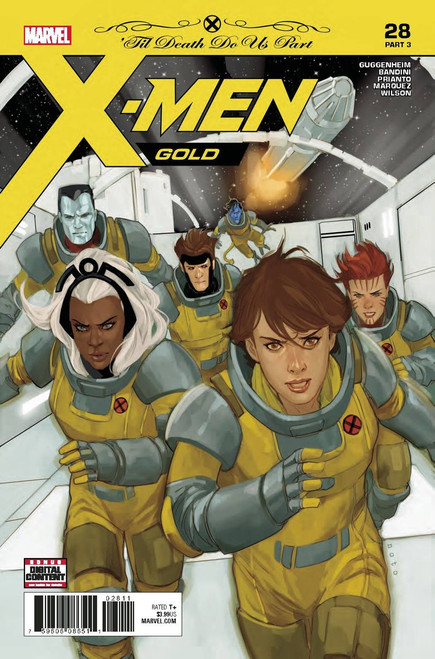 Marvel Comics X-Men Gold #28 Comic Book