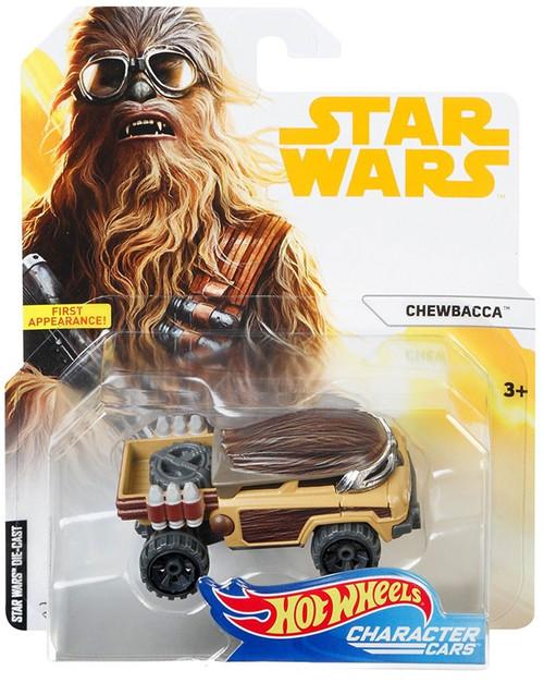 Hot Wheels Star Wars Character Cars Chewbacca Diecast Car