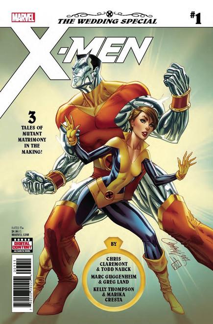 Marvel Comics X-Men Gold #1 Wedding Special Comic Book