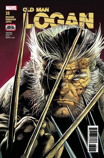 Marvel Comics Old Man Logan #39 Comic Book