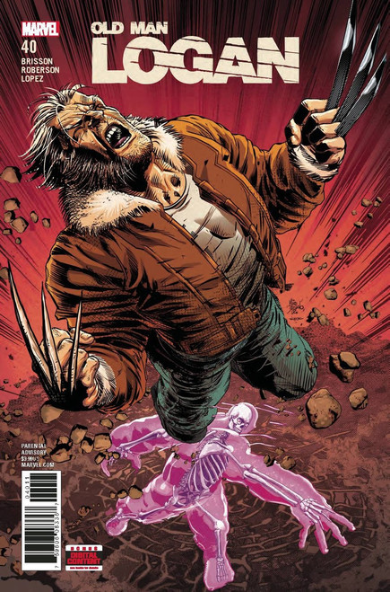 Marvel Comics Old Man Logan #40 Comic Book
