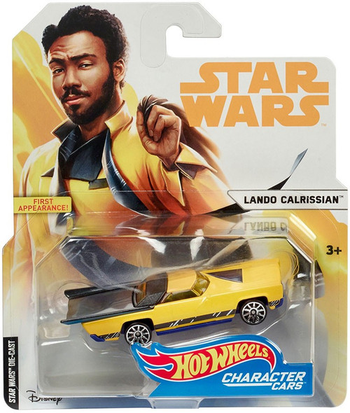 Hot Wheels Star Wars Character Cars Lando Calrissian Diecast Car