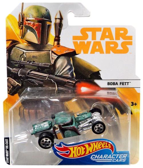 Hot Wheels Star Wars Character Cars Boba Fett Diecast Car