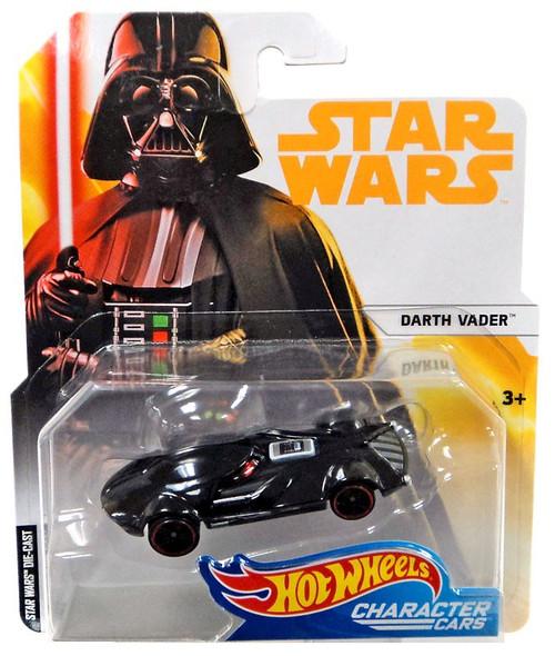 Hot Wheels Star Wars Character Cars Darth Vader Diecast Car
