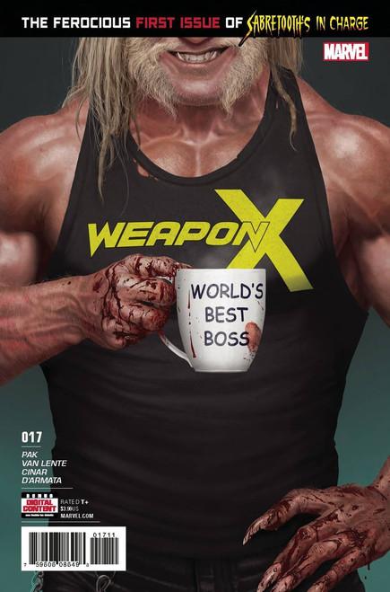 Marvel Comics Weapon X #17 Comic Book