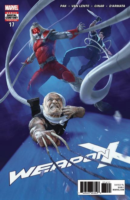 Marvel Comics Weapon X #18 Comic Book