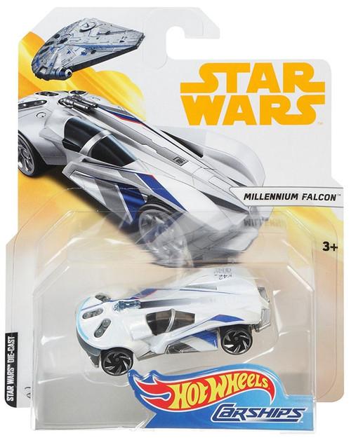 Hot Wheels Star Wars Carships Millennium Falcon Diecast Car