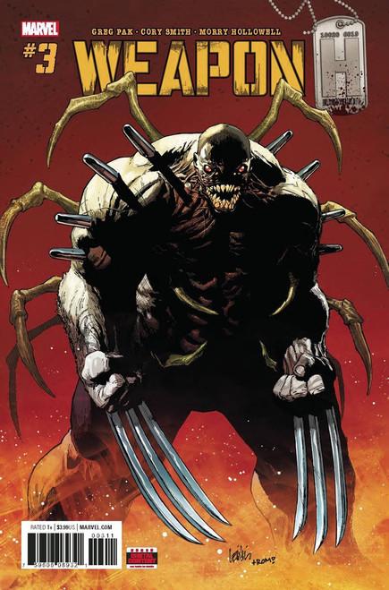 Marvel Comics Weapon H #3 Comic Book