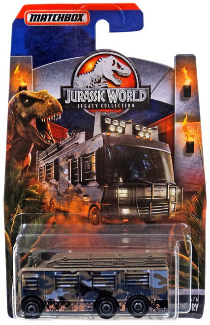 Jurassic World Matchbox Legacy Collection Fleetwod Southwind RV Diecast Vehicle #4/6