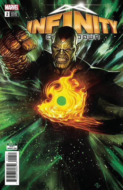 Marvel Comics Infinity Countdown #2 Comic Book [Super Skrull Holds Infinity Variant]