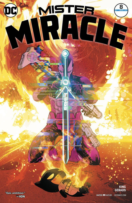 DC Mister Miracle #8 Comic Book [Variant]