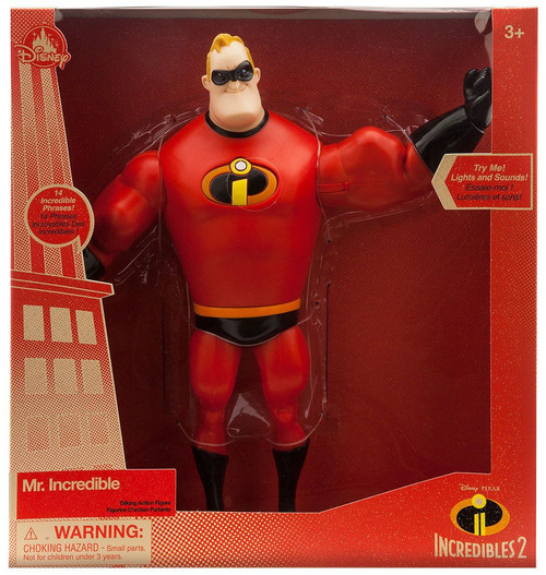 Disney / Pixar Incredibles 2 Mr. Incredible Exclusive Talking Action Figure