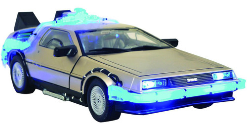 Back to the Future DeLorean Time Machine 14-Inch Electronic Car