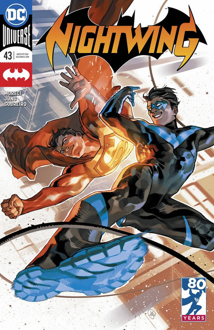 DC Nightwing #43 Comic Book [Variant]