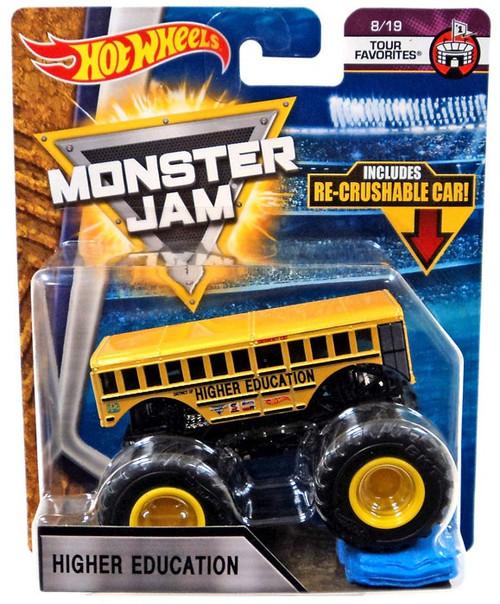 Hot Wheels Monster Jam Higher Education Diecast Car