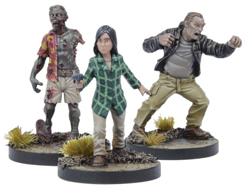 The Walking Dead Walking Dead All Out War Miniature Game Maggie Game Booster