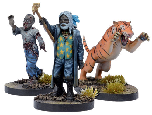 The Walking Dead Walking Dead All Out War Miniature Game Ezekial Game Booster