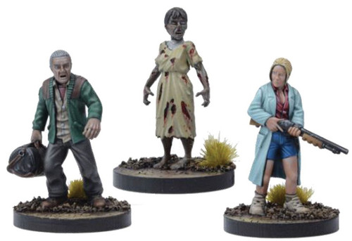 The Walking Dead Walking Dead All Out War Miniature Game Alice Game Booster