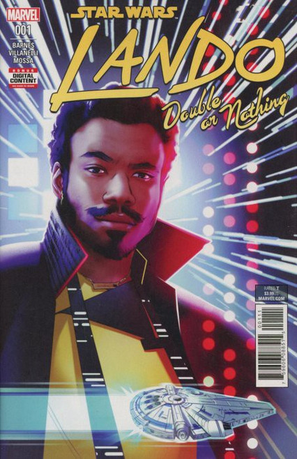 Star Wars Lando Double or Nothing #1 Comic Book