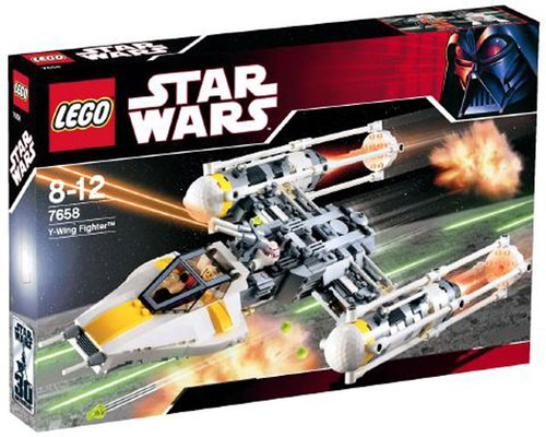 LEGO Star Wars A New Hope Y-Wing Fighter Set #7658 [Damaged Package]
