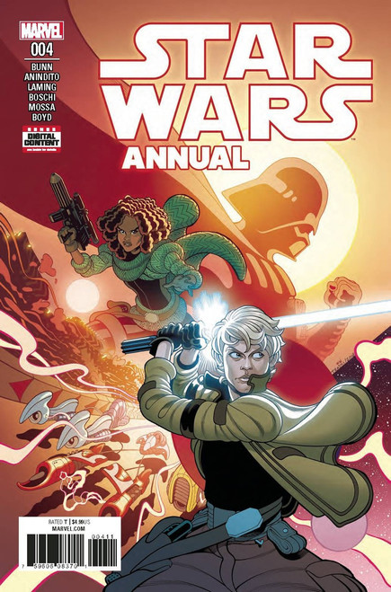 Star Wars #4 Annual Comic Book