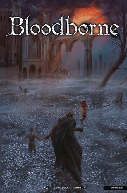 Titan Comics Bloodborne #4 Comic Book [Cover A Del Ray]