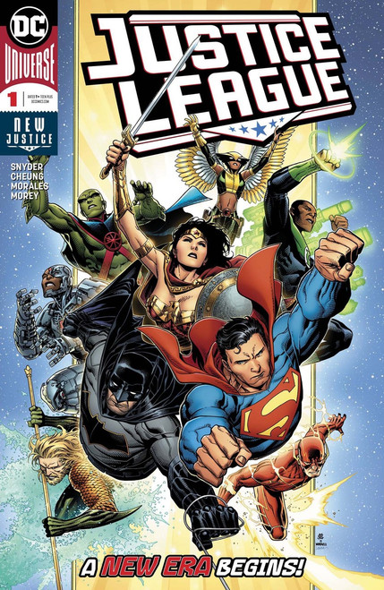 DC Justice League #1 Comic Book