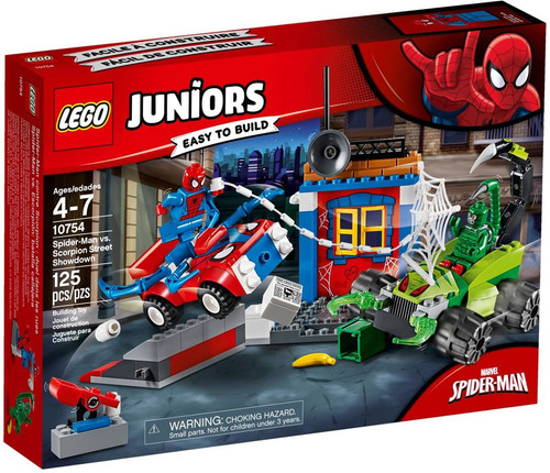 LEGO Juniors Spider-Man vs. Scorpion Street Showdown Set #10754