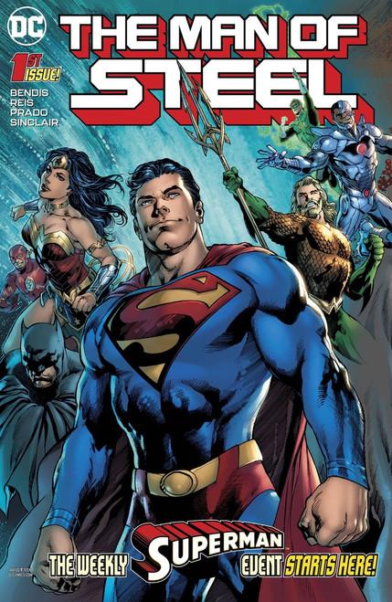DC Man of Steel #1 Comic Book [of 6]
