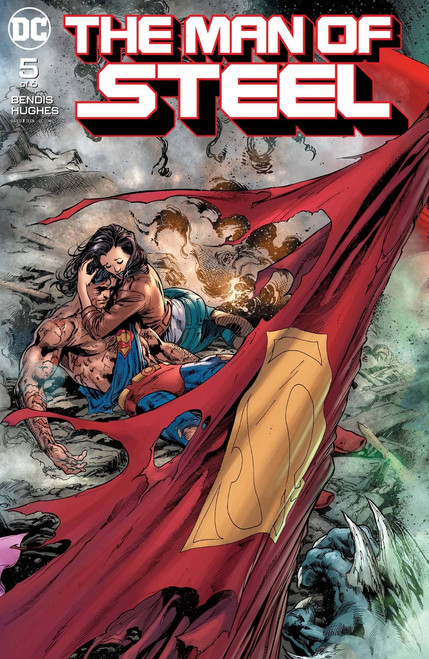 DC Man of Steel #5 Comic Book [of 6]