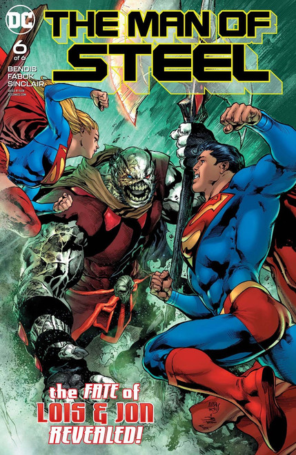 DC Man of Steel #6 Comic Book [of 6]