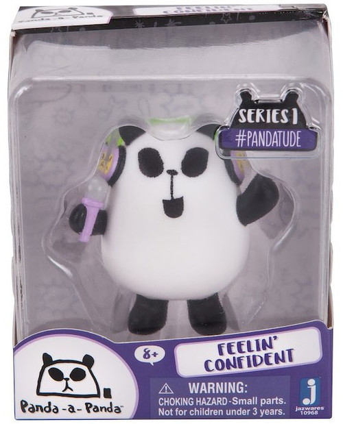 Panda-a-Panda Series 1 #Pandatude Feelin' Confident 2-Inch Vinyl Figure