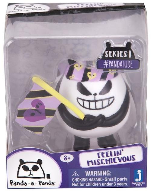 Panda-a-Panda Series 1 #Pandatude Feelin' Mischievous 2-Inch Vinyl Figure