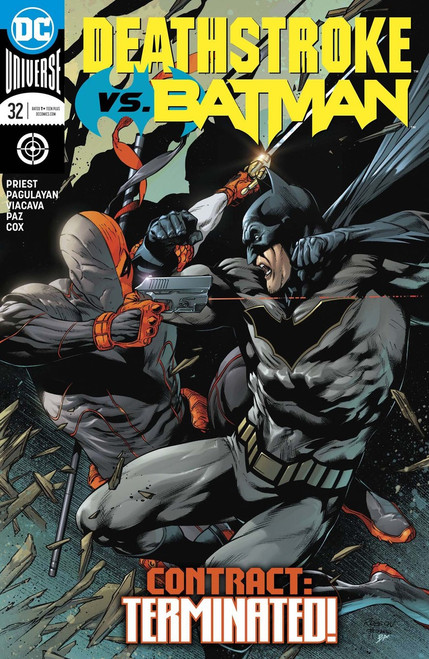 DC Deathstroke #32 Comic Book